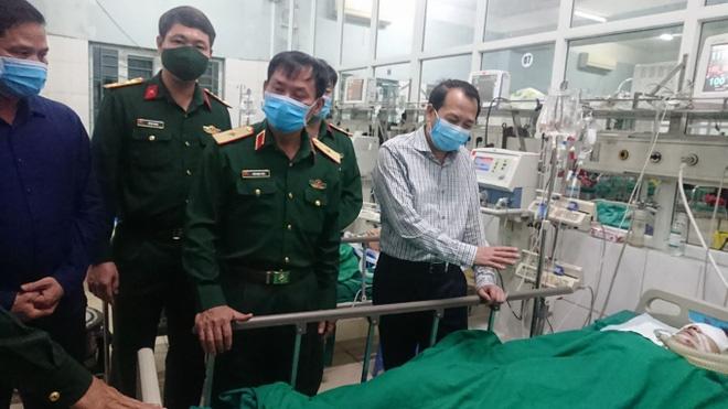 Chiến sĩ công binh hy sinh khi rà phá bom mìn ở Vị Xuyên - Ảnh 1.