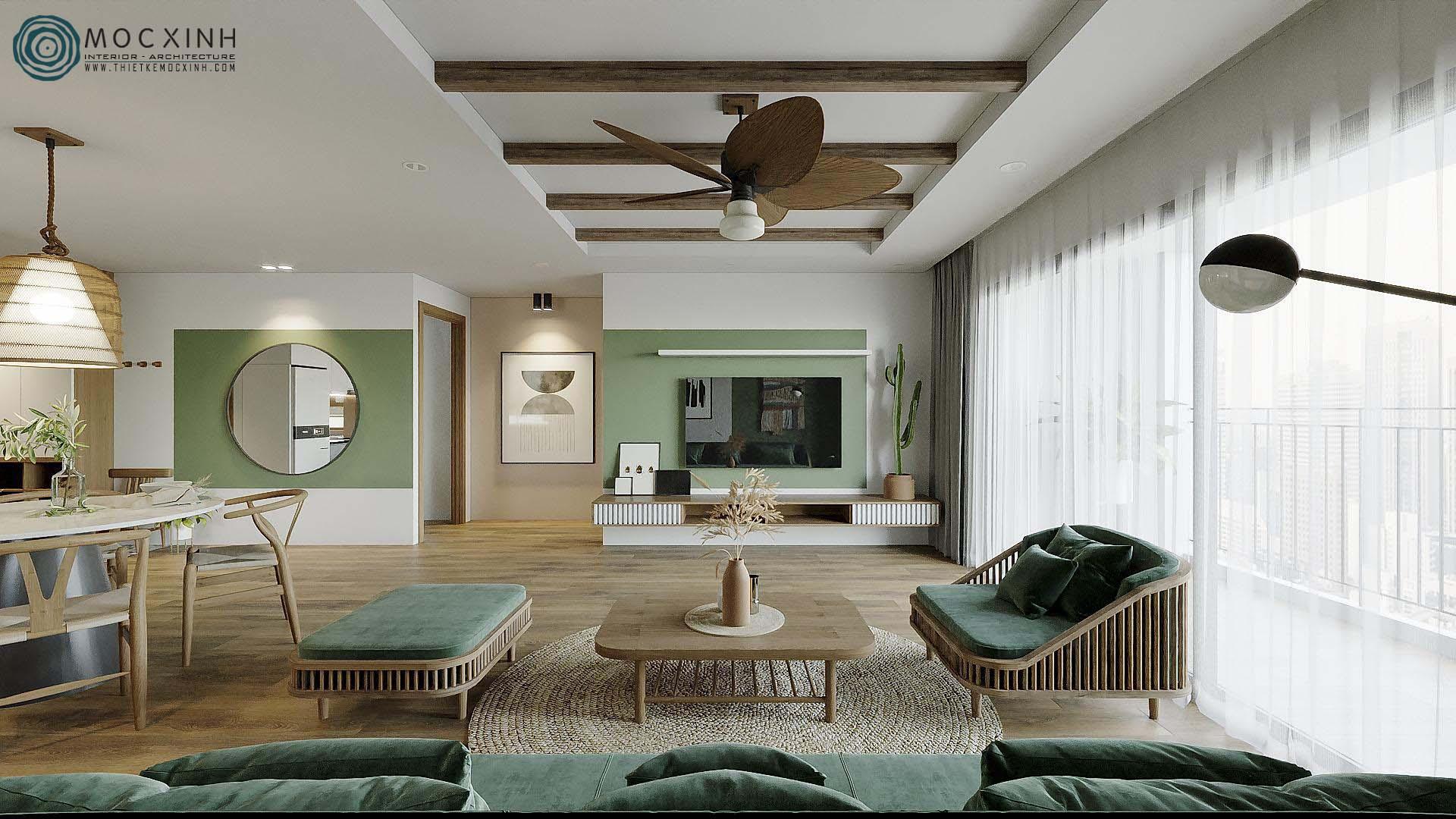 Những ý tưởng độc đáo cho thiết kế nội thất căn hộ chung cư hiện đại đẹp nhất - Ảnh 6.