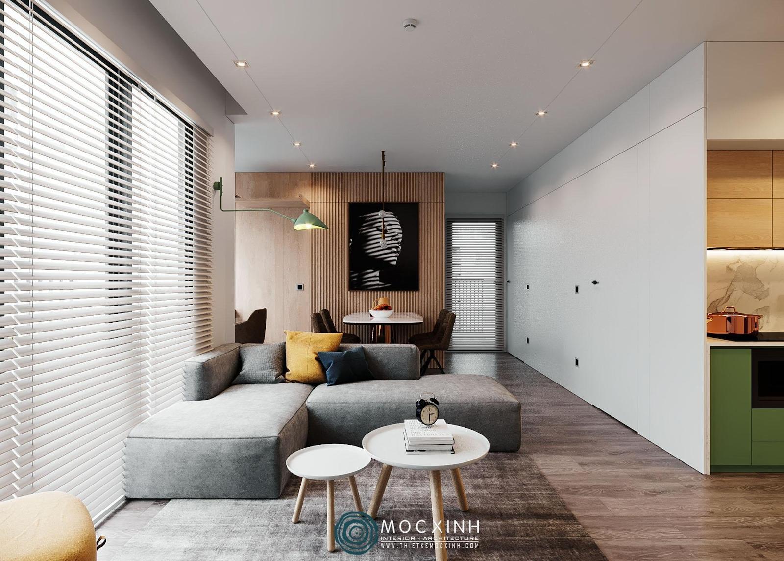 Những ý tưởng độc đáo cho thiết kế nội thất căn hộ chung cư hiện đại đẹp nhất - Ảnh 5.