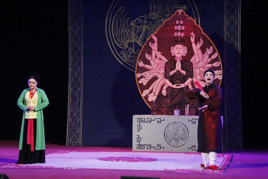 10 huy chương Vàng được trao tại Tài năng trẻ sân khấu Chèo chuyên nghiệp toàn quốc  - Ảnh 2.