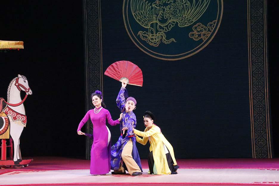 10 huy chương Vàng được trao tại Tài năng trẻ sân khấu Chèo chuyên nghiệp toàn quốc  - Ảnh 3.
