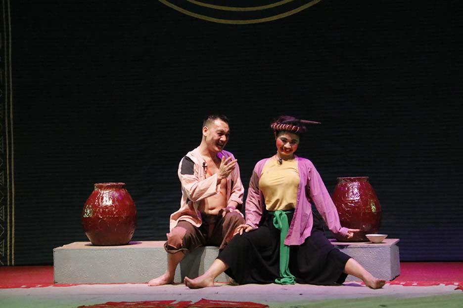 10 huy chương Vàng được trao tại Tài năng trẻ sân khấu Chèo chuyên nghiệp toàn quốc  - Ảnh 4.