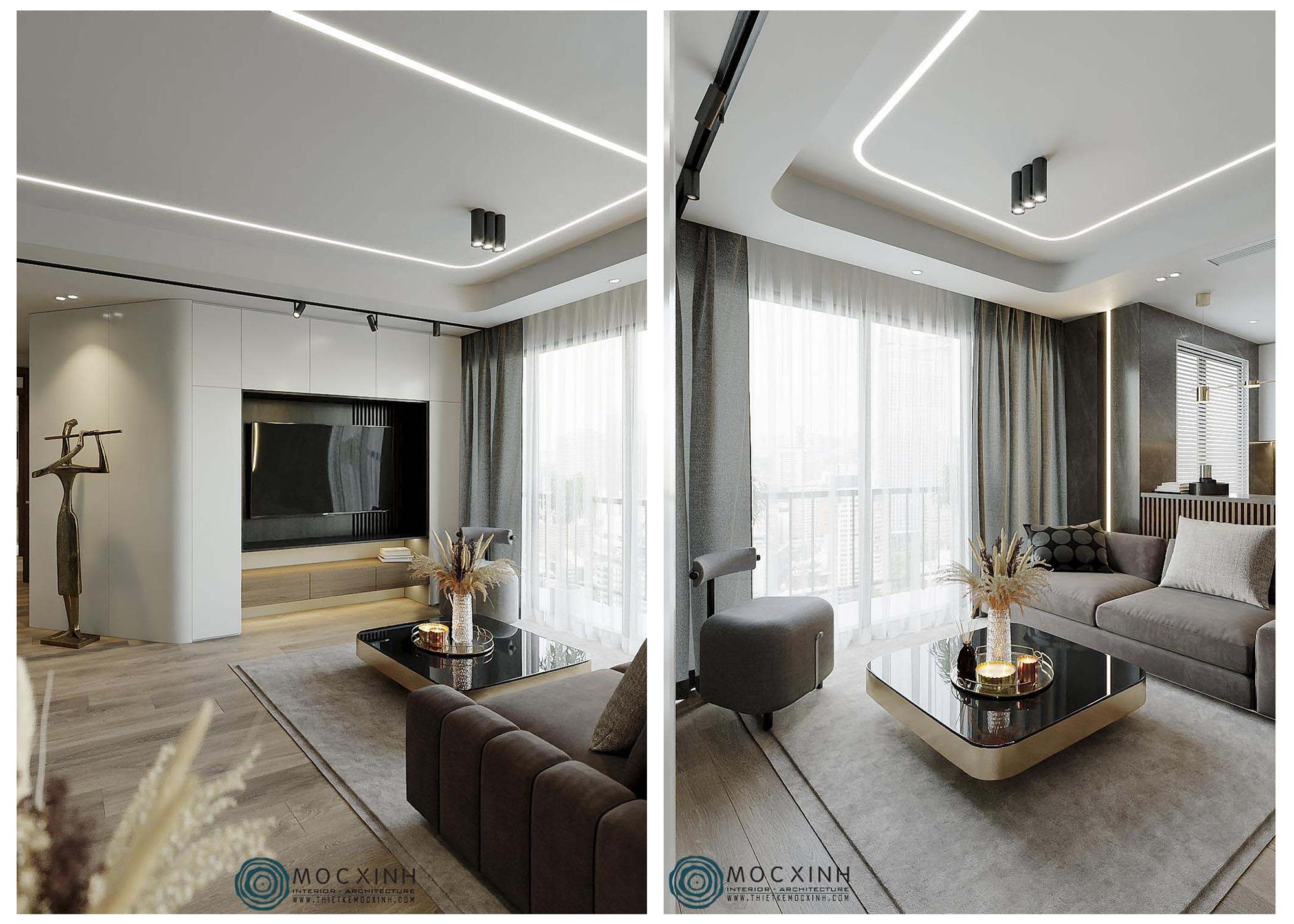 Những ý tưởng độc đáo cho thiết kế nội thất căn hộ chung cư hiện đại đẹp nhất - Ảnh 4.