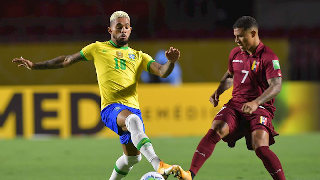 Vắng Neymar, Brazil nhọc nhằn đánh bại Venezuela - Ảnh 1.