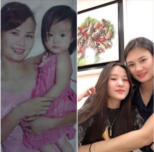 Hoa khôi bóng chuyền Kim Huệ khoe nhan sắc con gái, fan ngỡ ngàng - Ảnh 1.