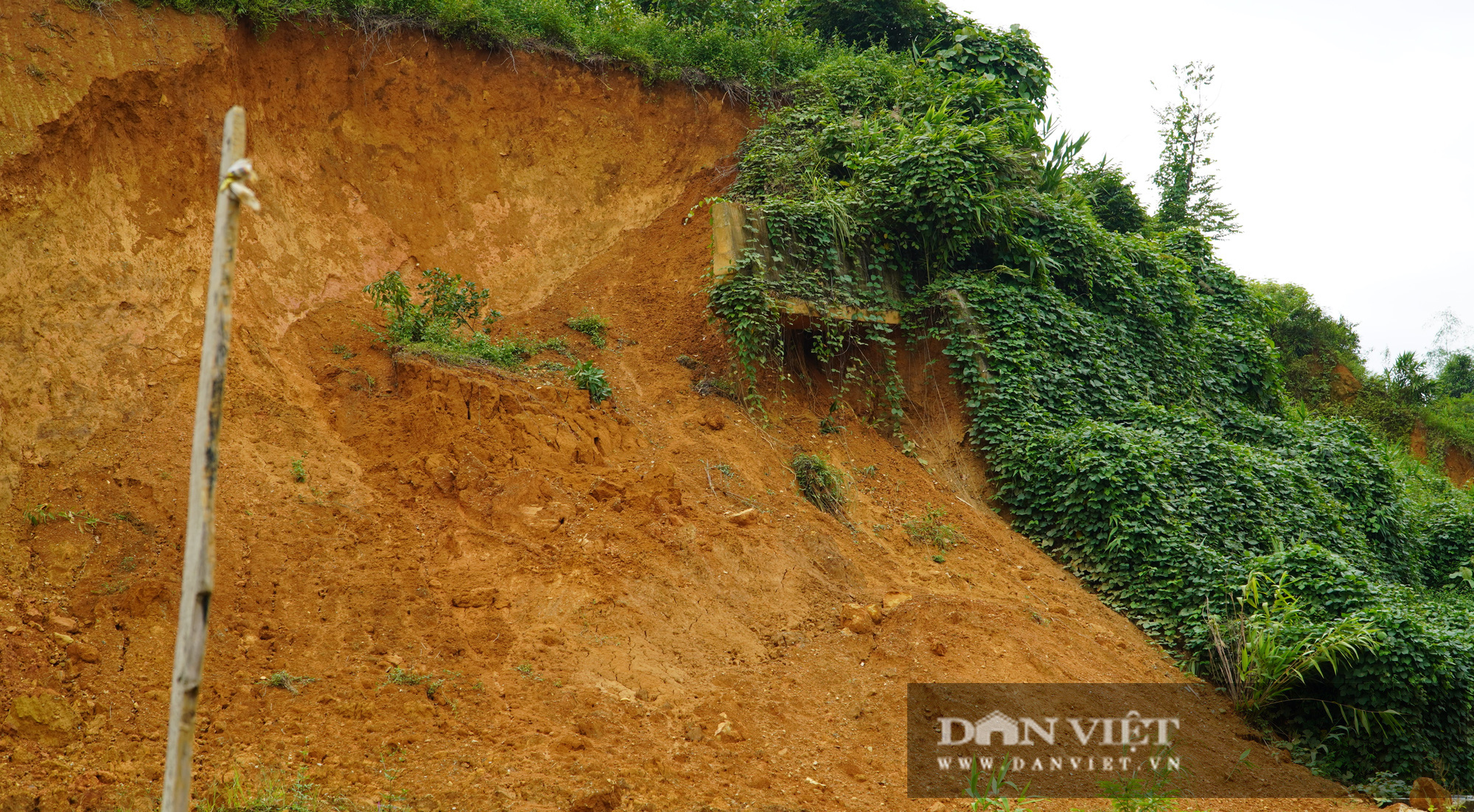 Sạt lở đất tại Lào Cai