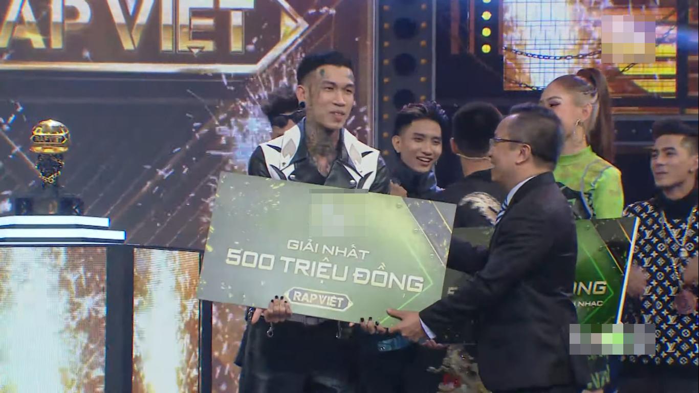"""Học trò """"lão đại"""" Wowy đăng quang Quán quân Rap Việt 2020 - Ảnh 12."""