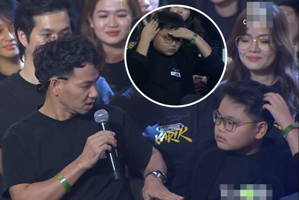 """Hai con trai Xuân Bắc khiến bố """"quỳ lạy"""" khi hé lộ lý do Karik bật khóc trên sân khấu Rap Việt - Ảnh 3."""