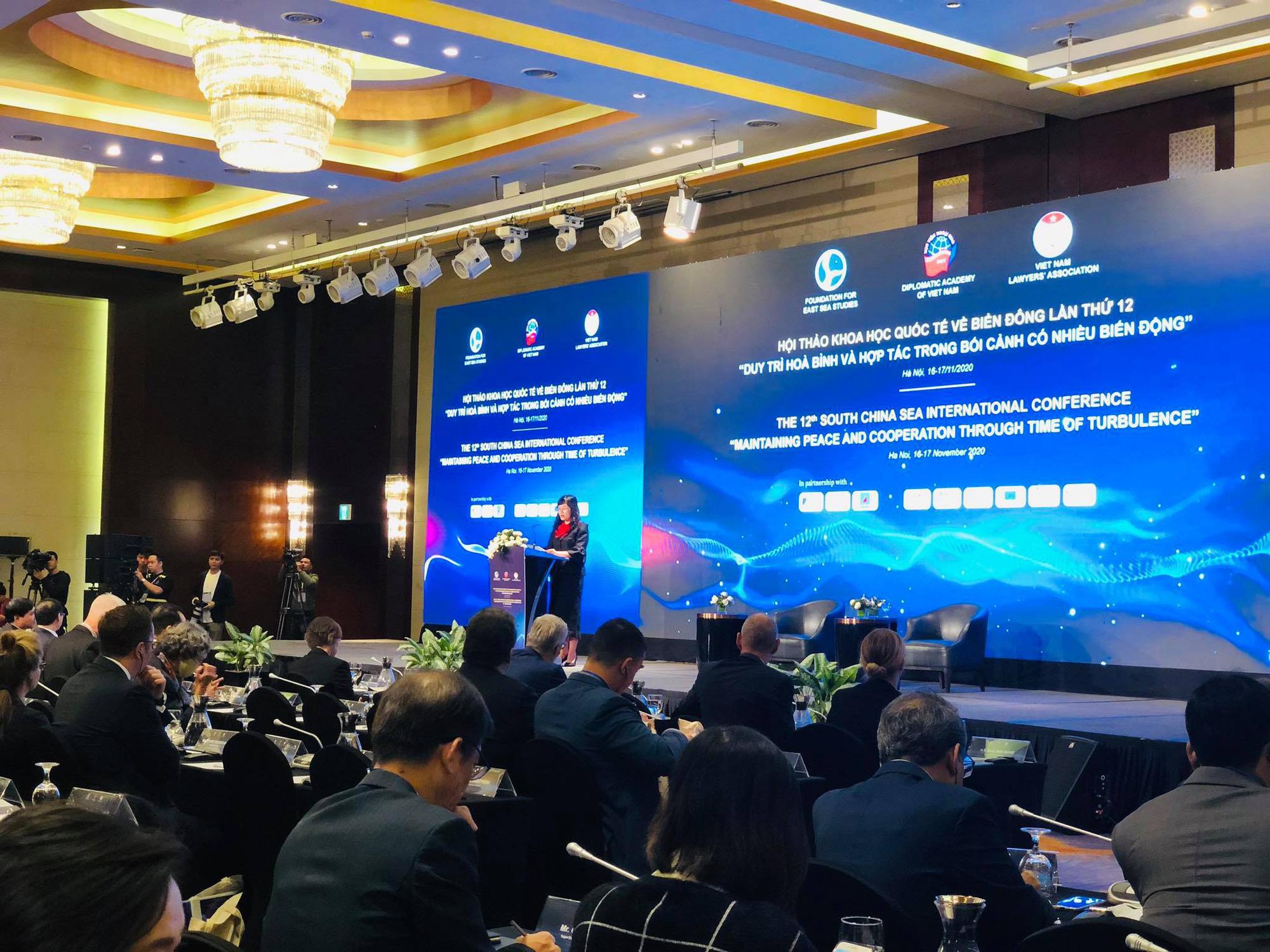 700 đại biểu dự Hội thảo Khoa học Quốc tế về Biển Đông - Ảnh 1.