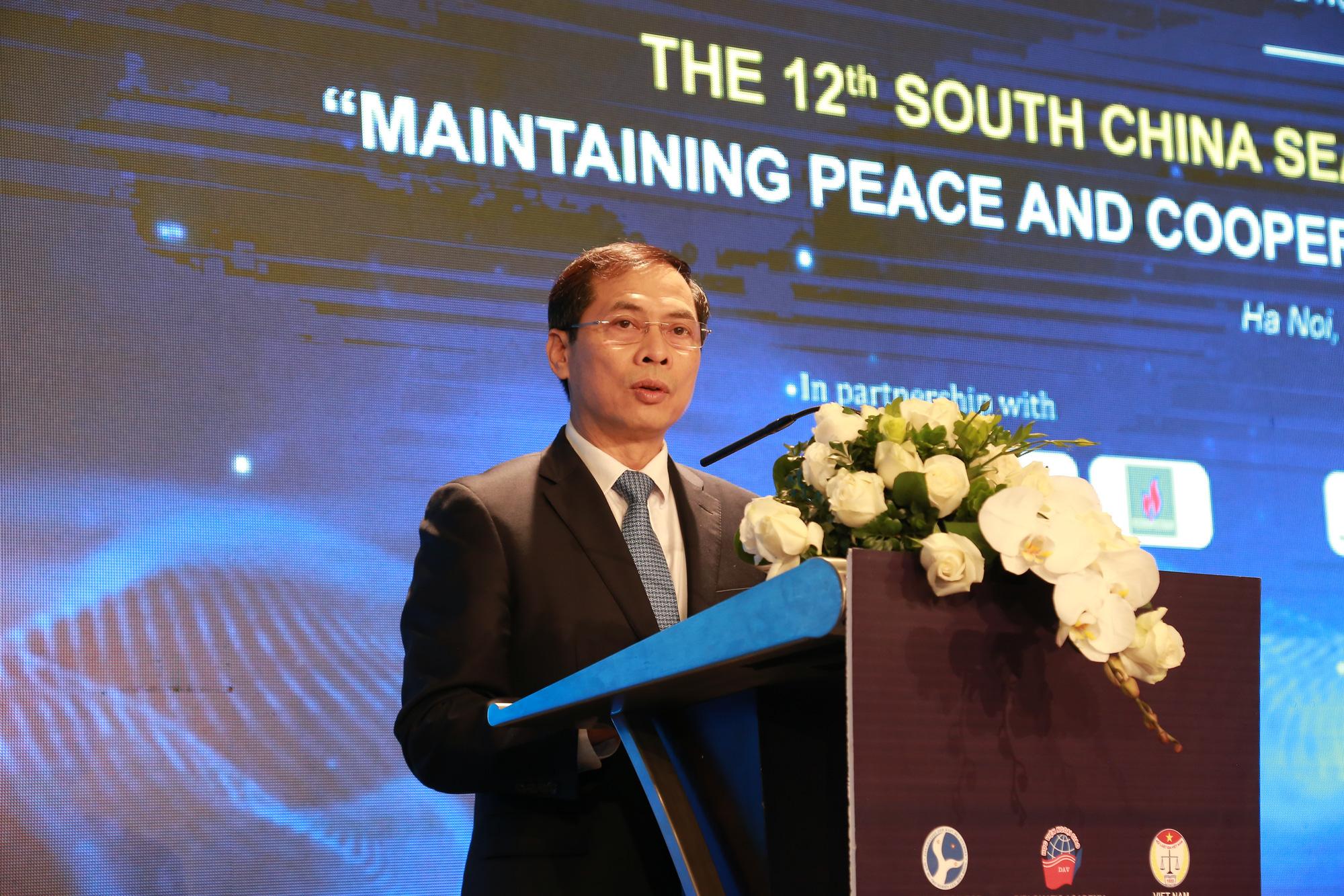 700 đại biểu dự Hội thảo Khoa học Quốc tế về Biển Đông - Ảnh 2.