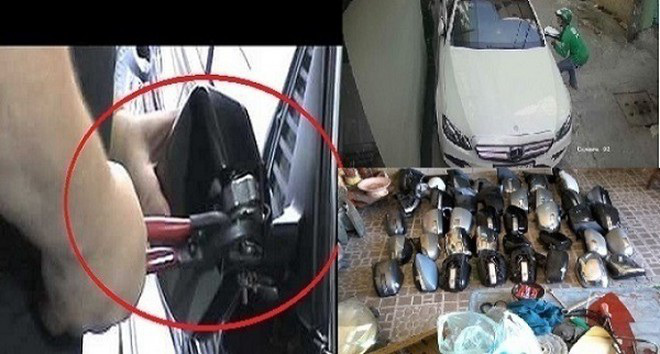 Theo dấu những kẻ chuyên trộm gương ô tô - Ảnh 1.