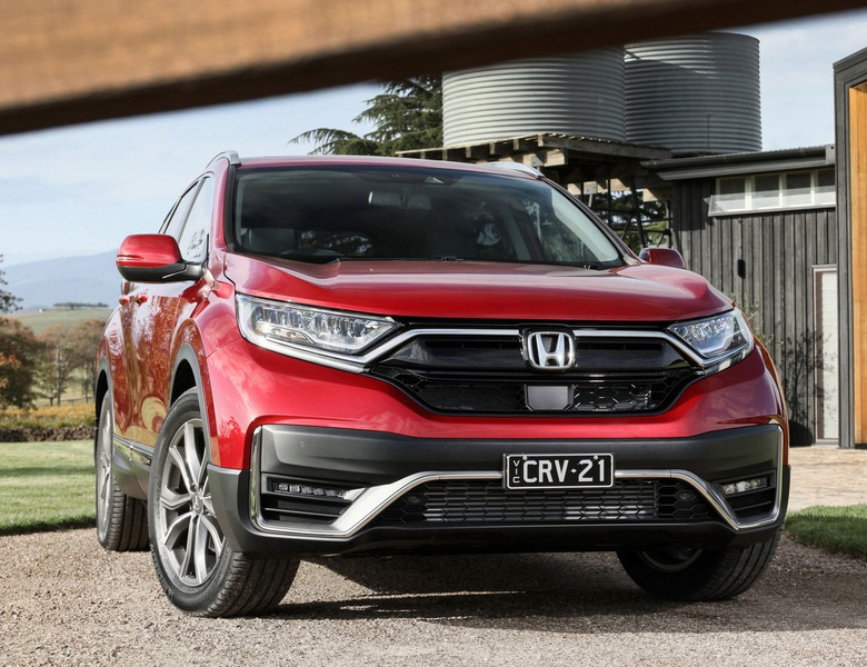 Lộ bảng giá xe Honda CR-V 2021 về Việt Nam - Ảnh 1.