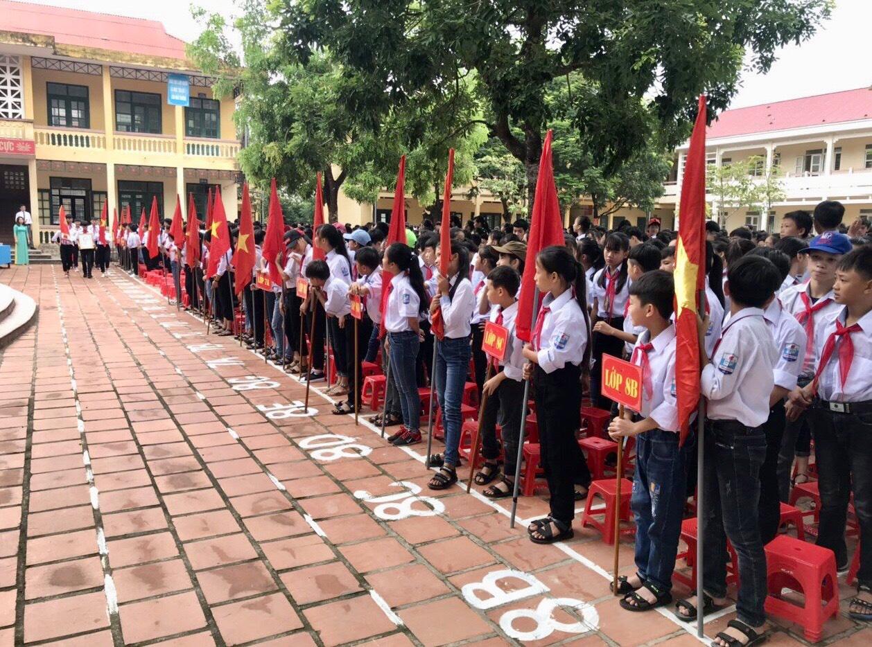 Trường THCS Minh Lộc: Xứng đáng với niềm kỳ vọng - Ảnh 1.