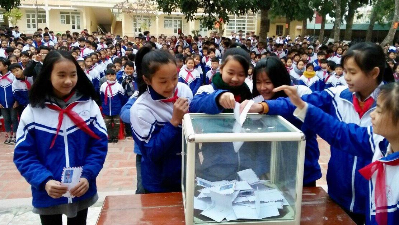 Trường THCS Minh Lộc: Xứng đáng với niềm kỳ vọng - Ảnh 3.