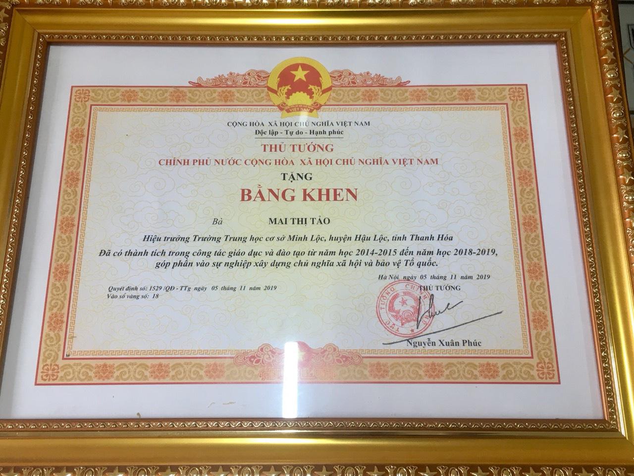 Trường THCS Minh Lộc: Xứng đáng với niềm kỳ vọng - Ảnh 4.