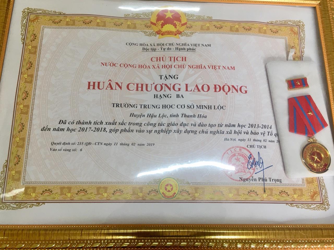Trường THCS Minh Lộc: Xứng đáng với niềm kỳ vọng - Ảnh 2.