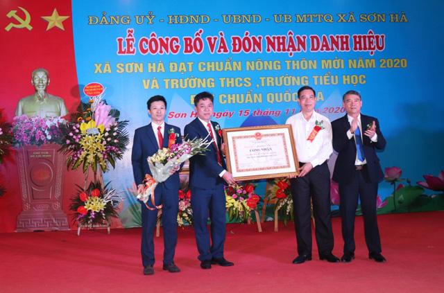 Xã cuối cùng của huyện Phú Xuyên về đích nông thôn mới: Sơn Hà và sức bật từ ngành nghề truyền thống - Ảnh 1.