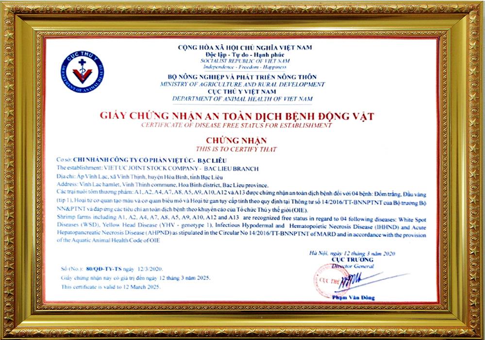 Khu nuôi tôm ứng dụng công nghệ cao của Tập đoàn Việt - Úc đạt các chứng nhận quan trọng - Ảnh 4.