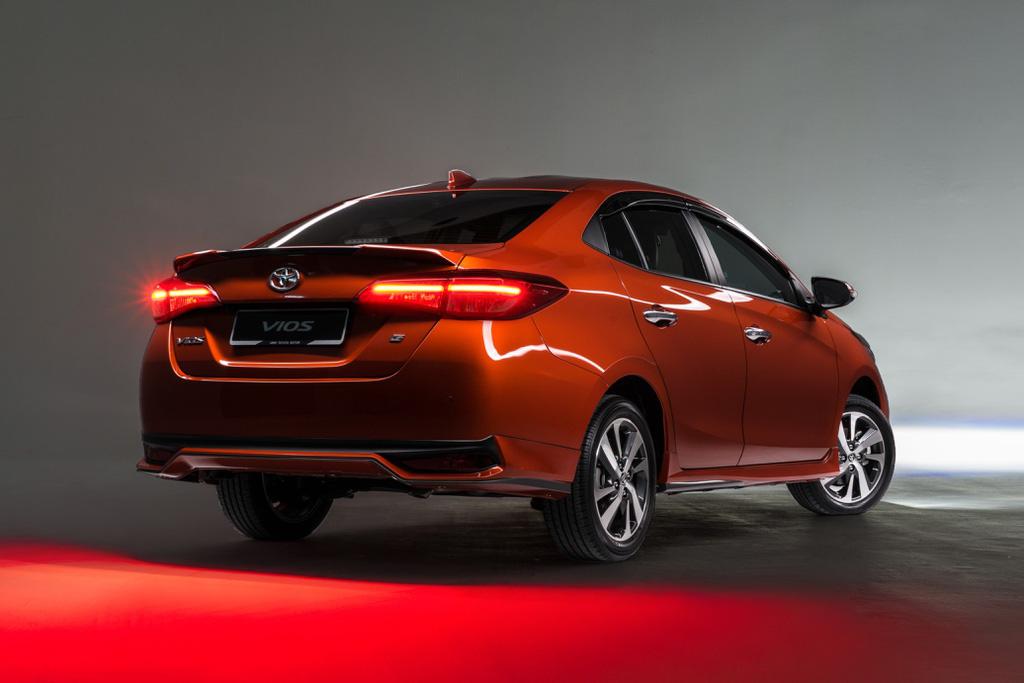 Toyota Vios 2020 được ra mắt tại Malaysia - Ảnh 4.