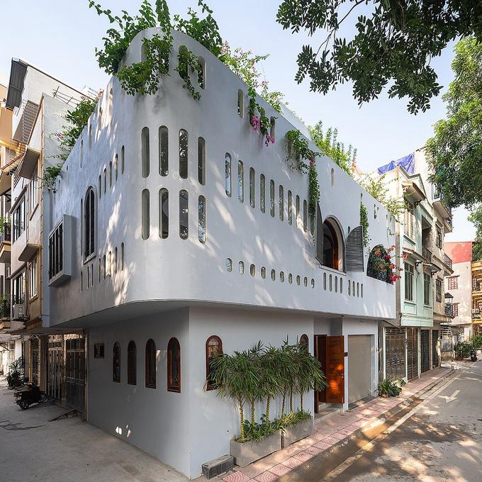 Nhà đẹp: Nét độc đáo trong ngôi nhà của cặp vợ chồng hai con tại Long Biên (Hà Nội) - Ảnh 3.