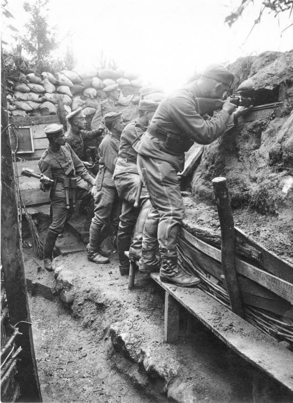Nét kinh điển trong thiết kế chiến hào thời Chiến tranh Thế giới thứ nhất - Ảnh 1.