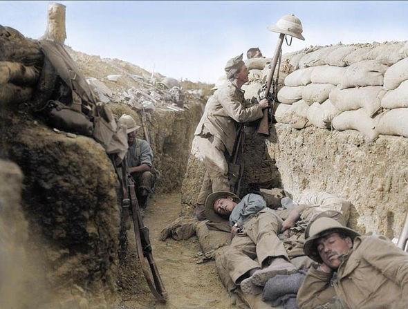 Nét kinh điển trong thiết kế chiến hào thời Chiến tranh Thế giới thứ nhất - Ảnh 9.