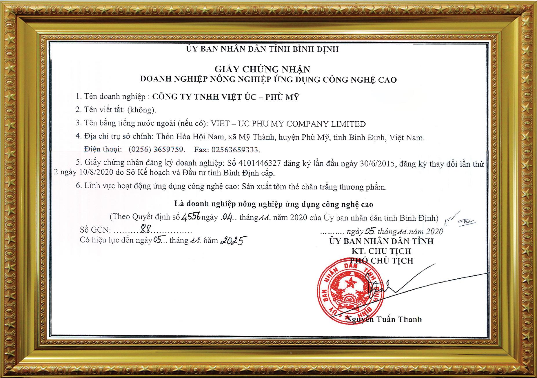 Khu nuôi tôm ứng dụng công nghệ cao của Tập đoàn Việt - Úc đạt các chứng nhận quan trọng - Ảnh 3.