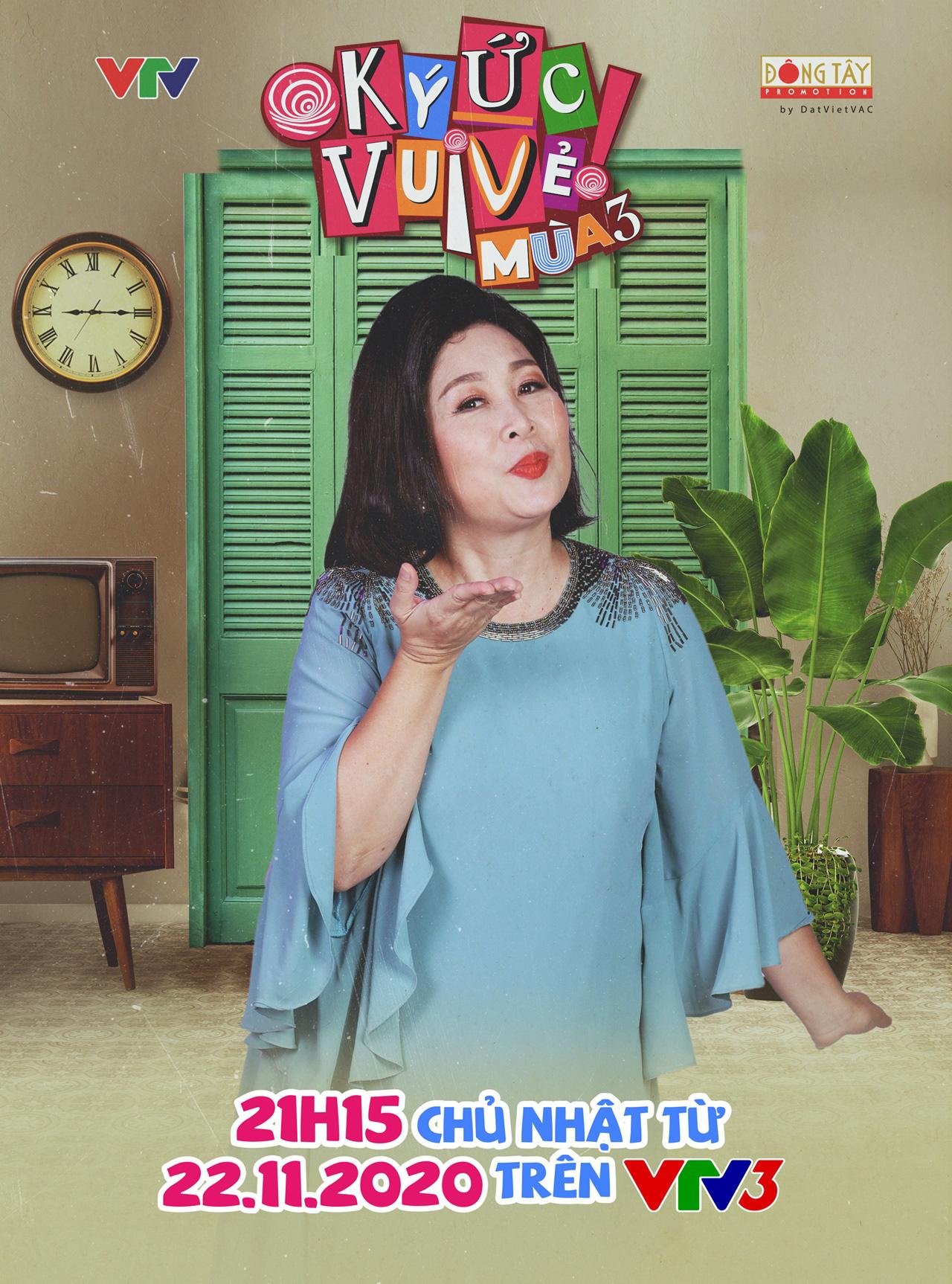 Ca sĩ Minh Tuyết, NSND Lệ Thủy xuất hiện trong Ký ức vui vẻ mùa 3 - Ảnh 3.