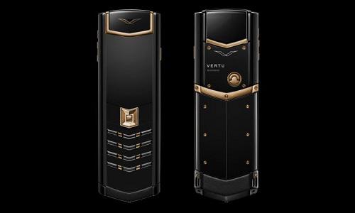 9 chiếc điện thoại Vertu đắt đỏ nhất thế giới, phủ vàng đá quý cả triệu đô la - Ảnh 7.