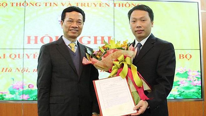 Tân Thứ trưởng Bộ Thông tin và Truyền thông trẻ tuổi nhất Việt Nam là ai? - Ảnh 1.