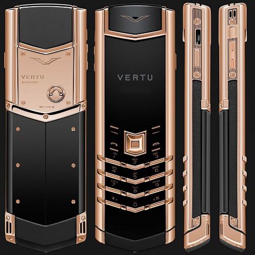 9 chiếc điện thoại Vertu đắt đỏ nhất thế giới, phủ vàng đá quý cả triệu đô la - Ảnh 9.