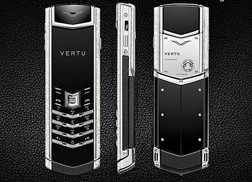 9 chiếc điện thoại Vertu đắt đỏ nhất thế giới, phủ vàng đá quý cả triệu đô la - Ảnh 3.
