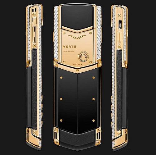 9 chiếc điện thoại Vertu đắt đỏ nhất thế giới, phủ vàng đá quý cả triệu đô la - Ảnh 5.