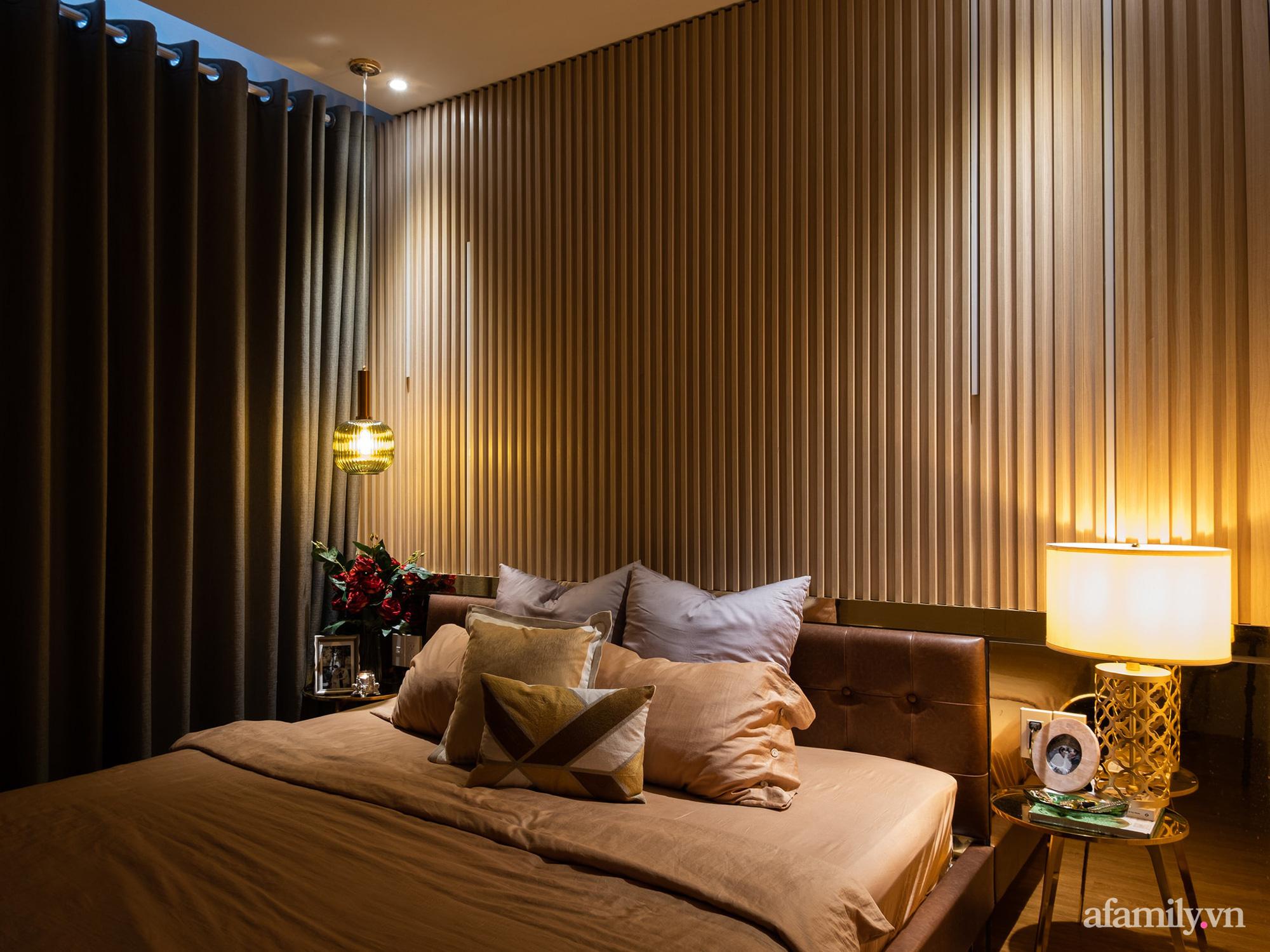 Căn hộ 70m² màu nâu trầm đẹp sang chảnh với chi phí hoàn thiện nội thất 400 triệu đồng ở Sài Gòn - Ảnh 17.