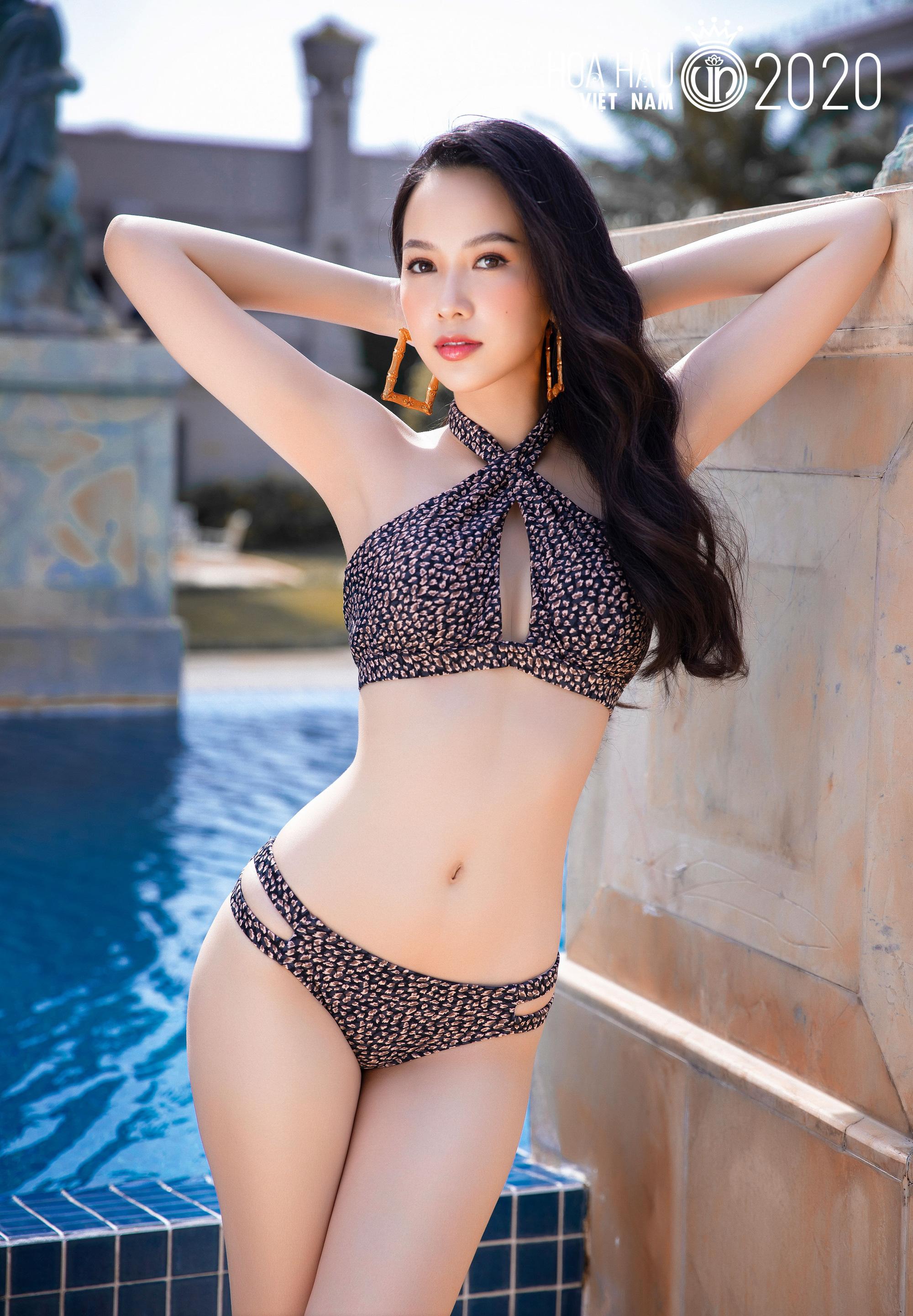 """5 mỹ nhân Hoa hậu Việt Nam 2020 mặc bikini quyến rũ """"đốt mắt"""" dự đoán """"soán ngôi"""" Trần Tiểu Vy là ai? - Ảnh 4."""