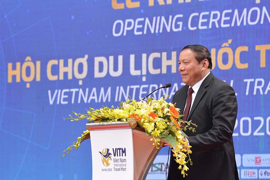 Khai mạc Hội chợ Du lịch Quốc tế Việt Nam – VITM Hà Nội 2020  - Ảnh 1.