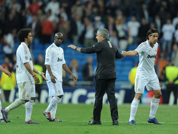 Mourinho và Khedira từng làm việc cùng nhau ở Real.