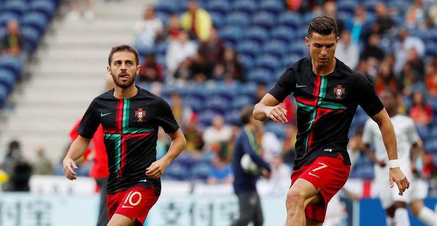 Pep khen ngợi đồng đội Ronaldo xuất sắc nhất tuyển Bồ Đào Nha.