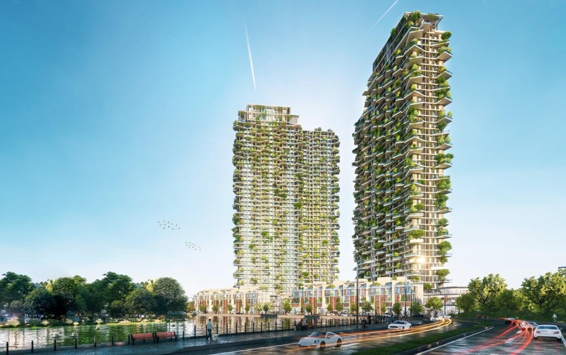 """Việt Nam sẽ có dự án lọt Top """"Các tòa tháp xanh cao nhất thế giới"""" - Ảnh 1."""