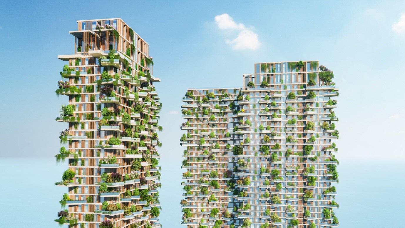 """Việt Nam sẽ có dự án lọt Top """"Các tòa tháp xanh cao nhất thế giới"""" - Ảnh 6."""