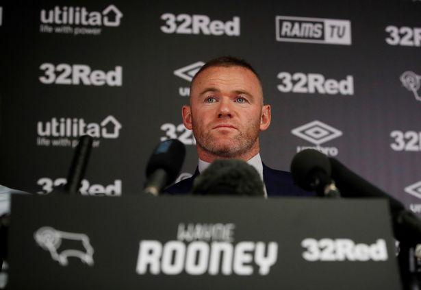 Rooney có buổi họp báo ra mắt Derby County với tư cách HLV.