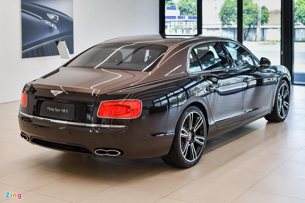 Chi tiết Bentley Flying Spur V8 S giá hơn 17,6 tỷ với màu sơn hiếm - Ảnh 3.
