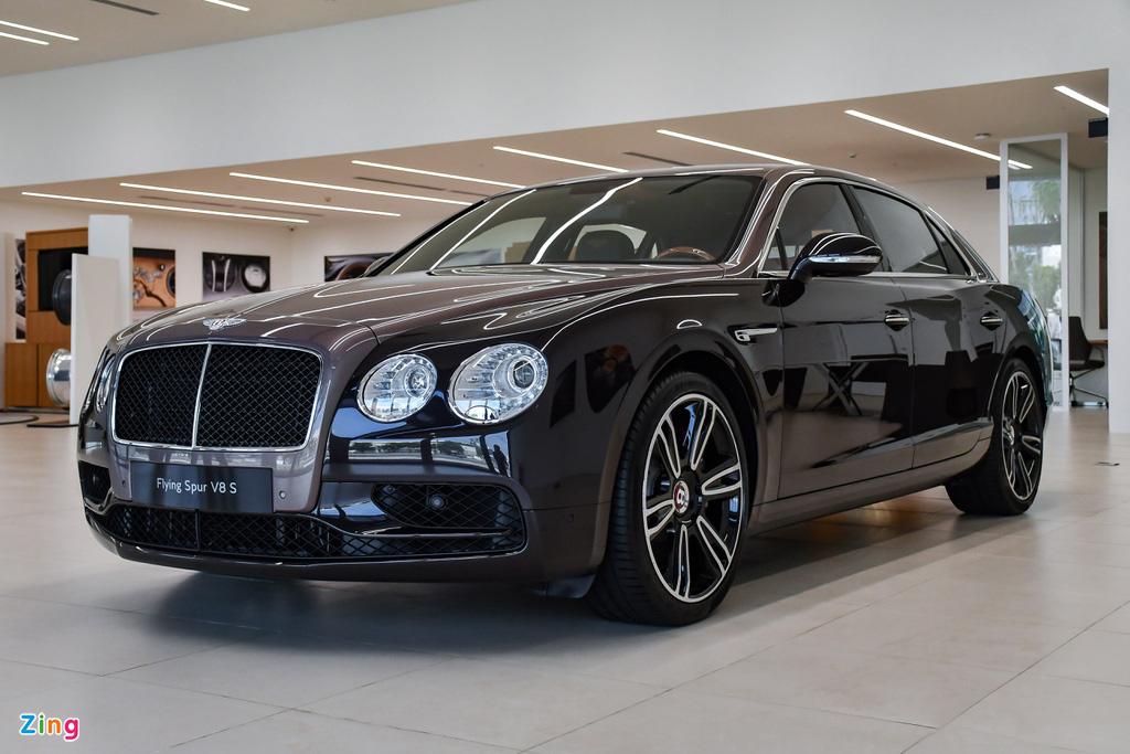 Chi tiết Bentley Flying Spur V8 S giá hơn 17,6 tỷ với màu sơn hiếm - Ảnh 1.