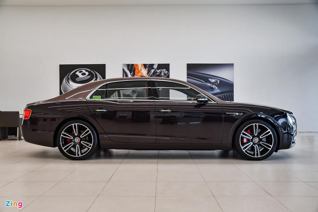 Chi tiết Bentley Flying Spur V8 S giá hơn 17,6 tỷ với màu sơn hiếm - Ảnh 5.