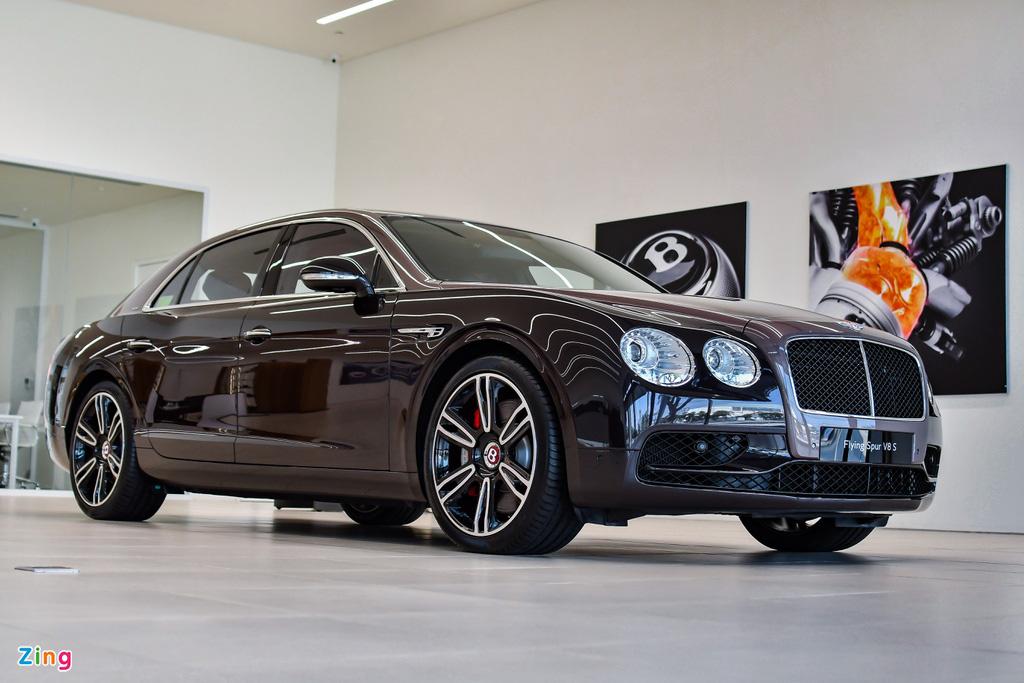 Chi tiết Bentley Flying Spur V8 S giá hơn 17,6 tỷ với màu sơn hiếm - Ảnh 2.