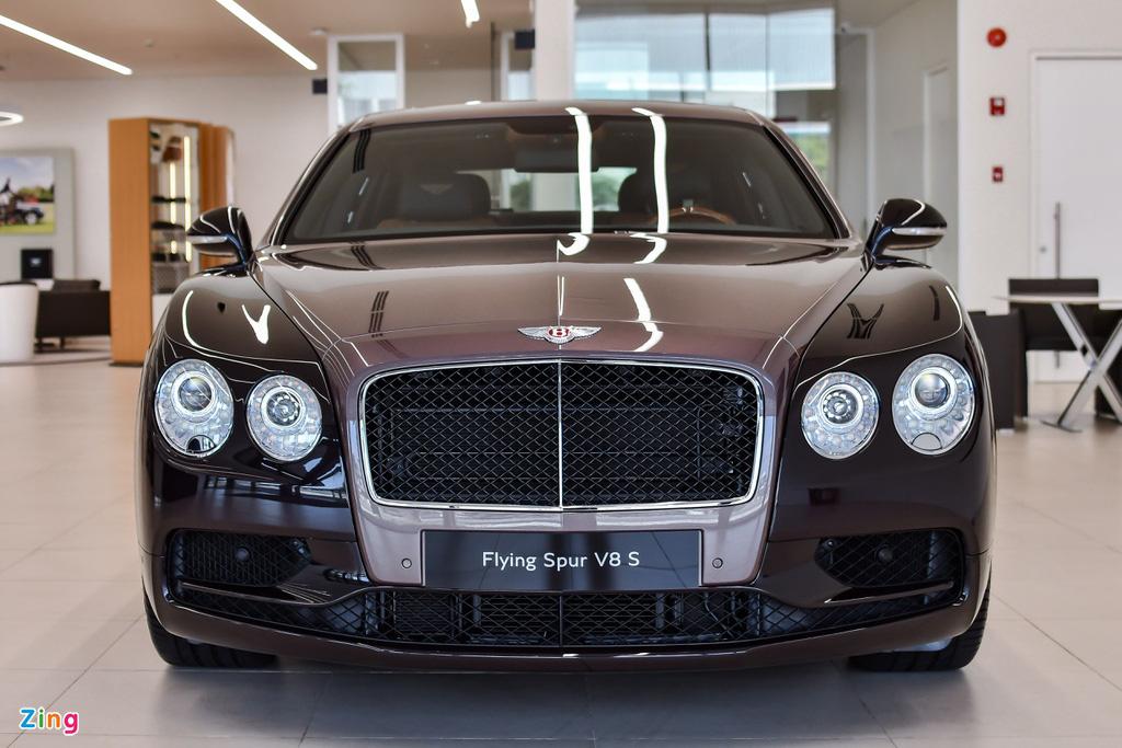Chi tiết Bentley Flying Spur V8 S giá hơn 17,6 tỷ với màu sơn hiếm - Ảnh 4.