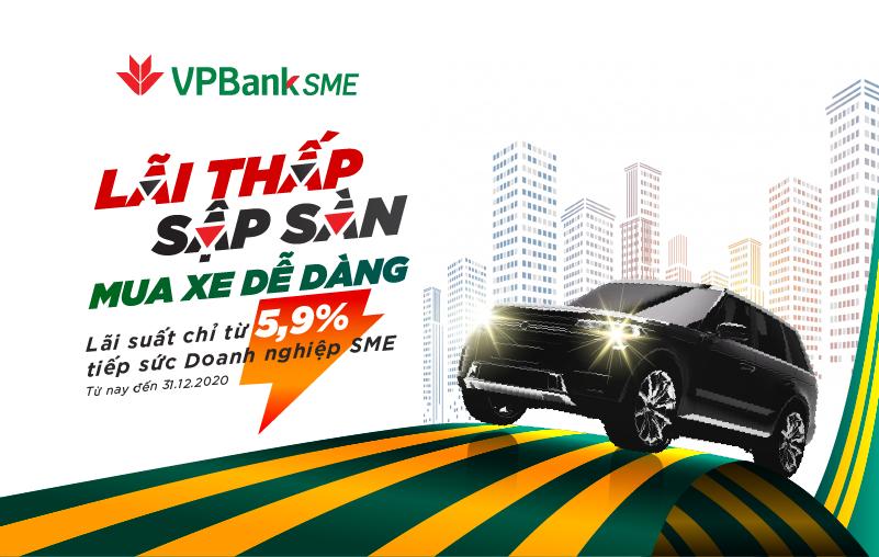 """Sở hữu ô tô 'siêu tốc"""" với gói vay cực hấp dẫn từ VPBank - Ảnh 1."""
