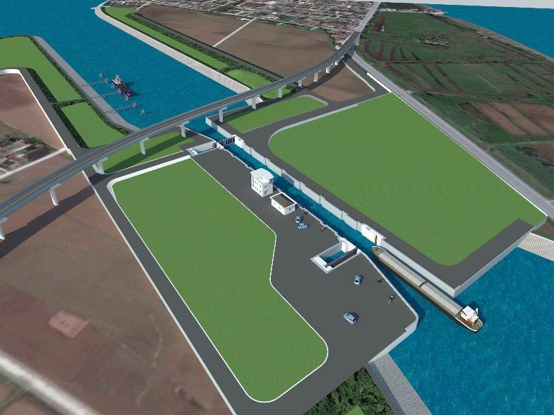 """Rút """"hầu bao"""" chi 100 triệu USD đào kênh nối sông Đáy -Ninh Cơ tại Nam Định  - Ảnh 1."""
