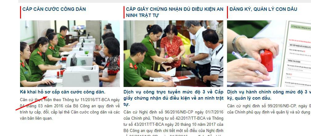 Các bước làm thẻ Căn cước công dân online tại nhà - Ảnh 1.
