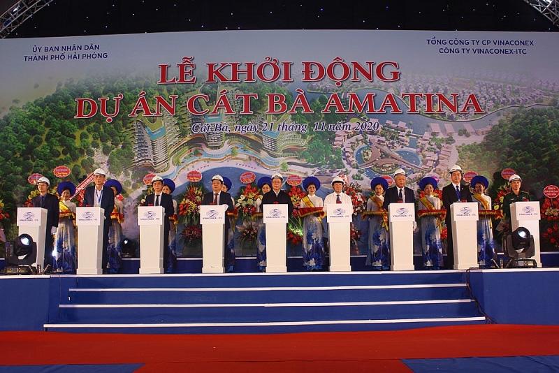 Hải Phòng: Khởi động Dự án 1 tỷ USD Khu đô thị du lịch Cát Bà Amatina  - Ảnh 1.